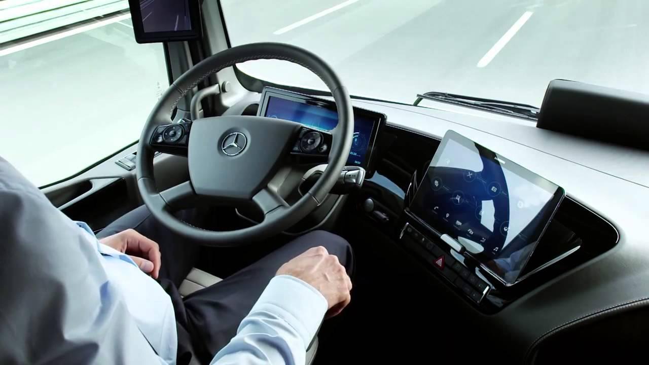 Incroyable le camion de 2025 selon mercedes youtube for Future interieur
