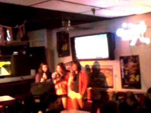 Meagan, Dj, and Geana singing 1/22/11