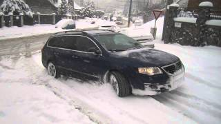 Passat 2,0tdi 4motion on snow