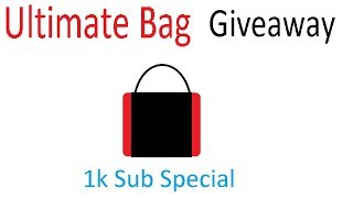 Roblox Parkour - Ultimate Bag Giveaway [1k Sub] [CLOSED]
