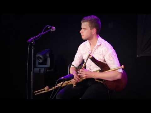 Uilleann Pipes & Guitar.  Calum Stewart & Heikki Bourgault