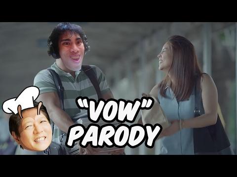 """WEW"" - PARODY DUB of Kwentong Jollibee Valentine Series: Vow - GLOCO"