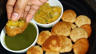 Perfect pani puri A to Z with stuffing