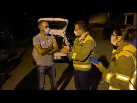 El conselleiro de Medio Rural visita la zona afectada por los fuegos en Vilariño de Conso