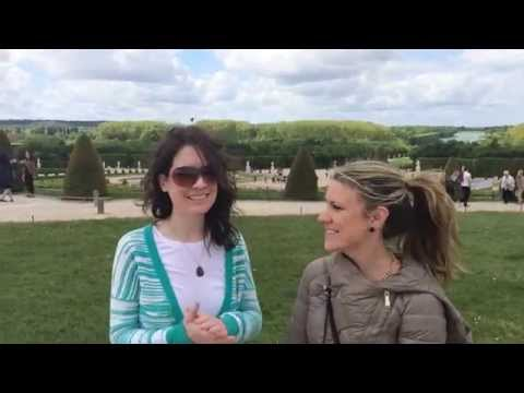Travel Chicks TV: Palace and Gardens of Versailles Adventures (and Pranks)