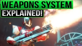 Destiny 2 Weapons Explained - Destiny 2 Weapon Mods, Weapon Categories, and Dubious Volley Gameplay