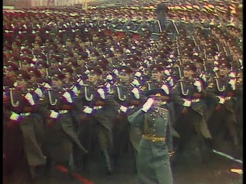 HD Soviet October Revolution Parade, 1974 Парад 7 Ноября