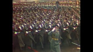 HD Soviet October Revolution Parade, 197...