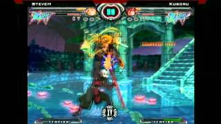 Final Round XV Guilty Gear Accent Core Grand Finals SteveH vs Kusoru
