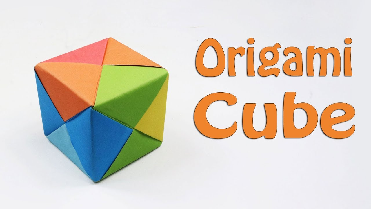 How to Make a Modular Origami Cube Box | 720x1280