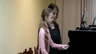 Открытый урок Федоровой М.М. с Дмитриевой Ольгой (Часть 2)