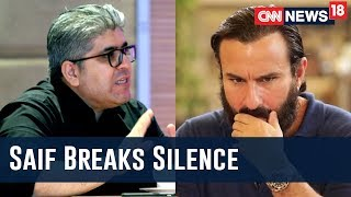 Can't Compare Bollywood's MeToo Movement To Hollywood's: Saif Ali Khan Exclusive With Rajeev Masand