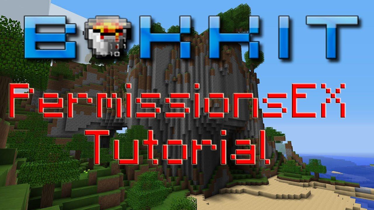 Bukkit Tutorials: How To Set Up Permissions For a Minecraft Server