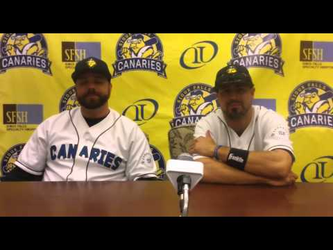 Sioux Falls Canaries Post Game Press Conference 7/6/15