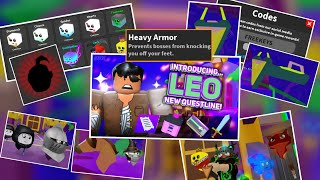 New Ghost World Update, Completing Leo's Questline + New Pets + Giveaway! (Roblox Ghost Simulator)