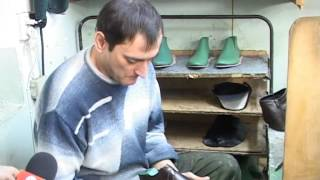 Мастер  обуви. ТВ-Махачкала. Журналист меняет профессию