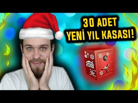 30 ADET YENİ YIL KASASI AÇTIM! - ZULA