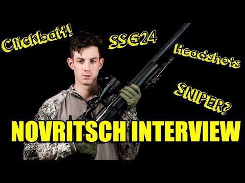 NOVRITSCH INTERVIEW Sniper sein, Clickbait, Headshots & SSG24 [DE]