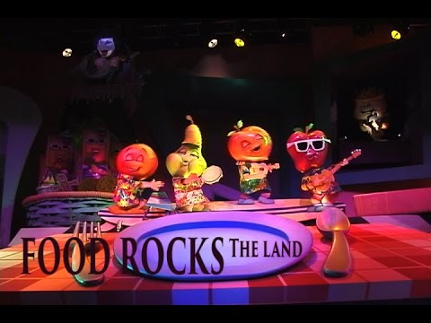 Food Rocks the Land in Epcot 2001