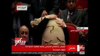 الآن| لحظة مؤثرة بين والدة الشهيد شريف محمد عمر وصديقه المقاتل المقدم محمود علي هلال