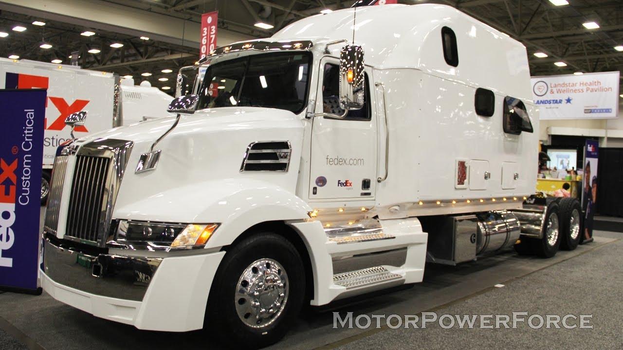 2020 Western Star 5700xe Extended Sleeper Fedex Semi Truck With