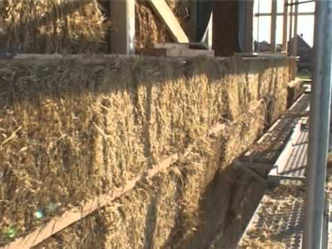 Строительство из соломенных блоков в Германии.Часть 1.
