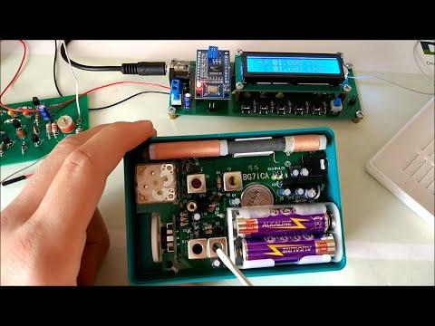 Tecsun 2P3 Radio aufbauen, abgleichen und testen