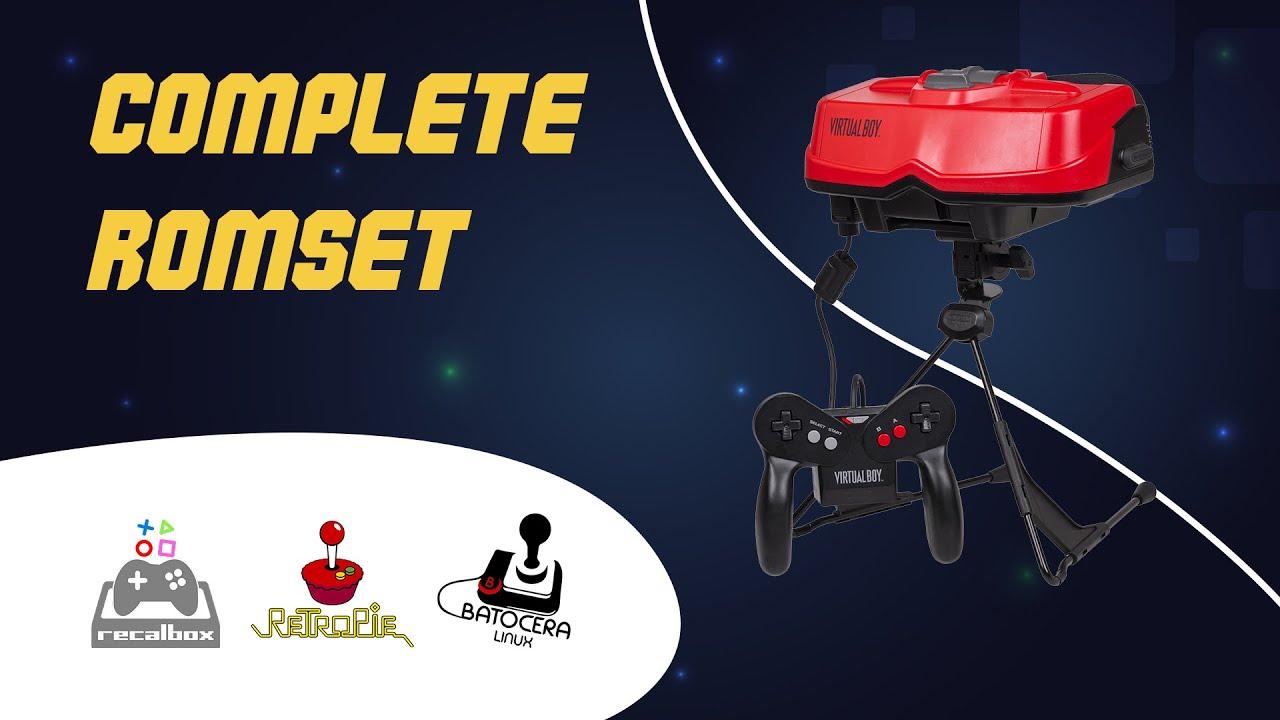 virtual boy rom set