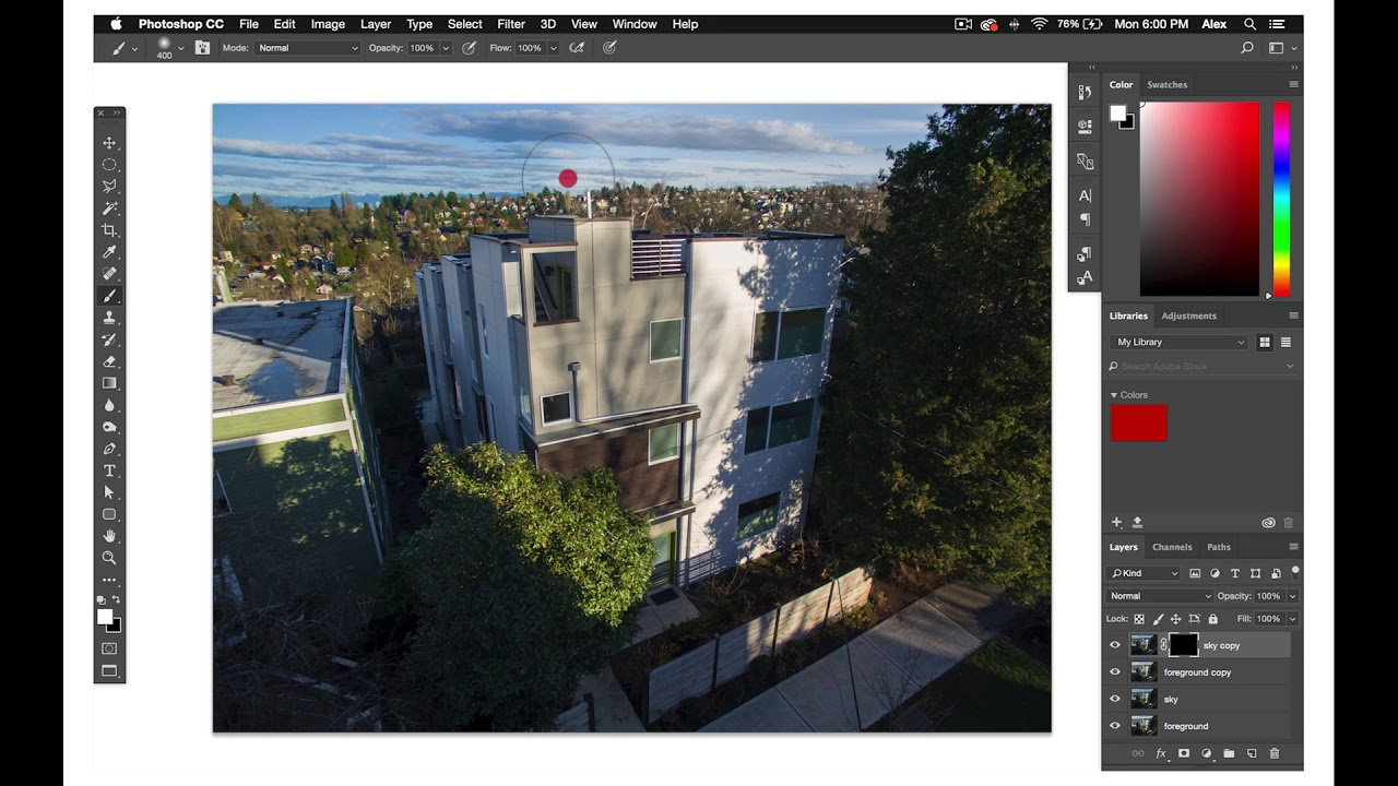 How to master the basics of editing drone photos for real estate