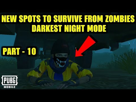 *new*-5-places-to-survive-from-zombies-in-evoground-darkest-night-mode-|-pubg-mobile-0.12.0-update!