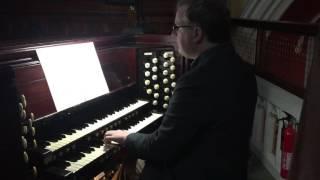 Fughetta for Organ - Rónán Murray YouTube Thumbnail