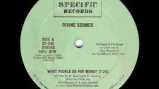 Old School Beats - Divine Sounds - What People Do For Money Thumbnail