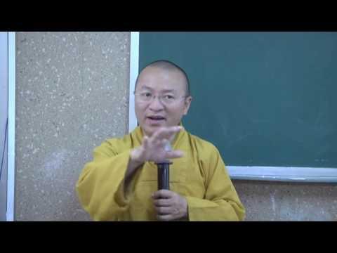Dẫn nhập Triết học Phật giáo (2014) 07: Khế ước xã hội và vương quyền