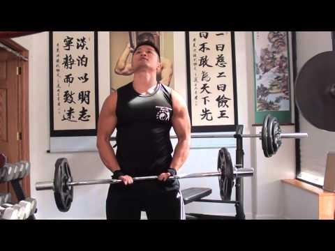 Sifu Lee: Bicep Curl 75 lbs - 31 Reps - at 148 lbs