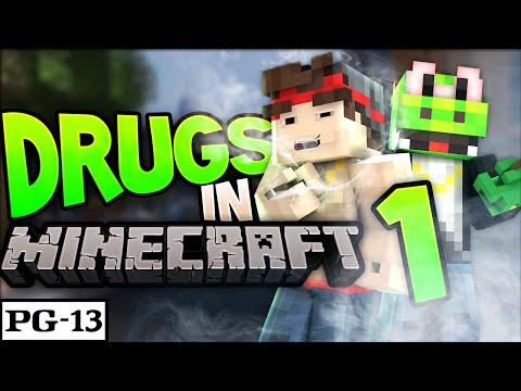 DRUGS In MINECRAFT? | Episode 1 - Minecraft Drug Server!