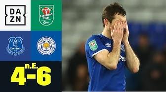 Everton fliegt trotz traumhaftem Ausgleich raus: Everton - Leicester n.E. 4:6 | Carabao Cup | DAZN