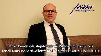 Kinnusen Kuulumiset: Kansanedustaja Antti Rantakangasta muistaen