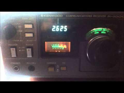 Stazione radio costiera  IQX Trieste radio 2624 khz