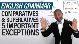 English Grammar Exceptions: Superlative & Comparative