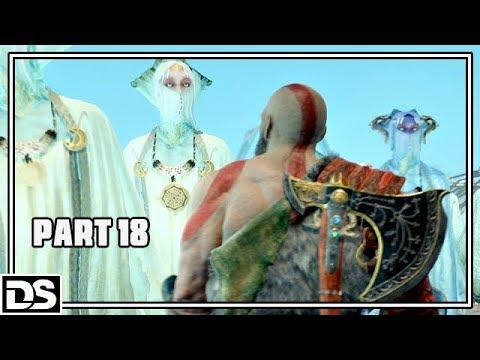 God of War PS4 Gameplay German #18 - Zurück nach Midgard - Let's Play God of War 4 Deutsch