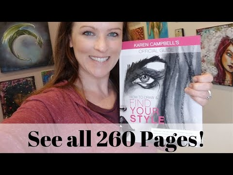 How to Draw & Find Your Style Book Complete Overview!