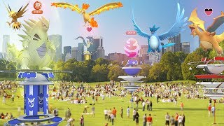 Finalmente! Lendários em Raids! Data Mine Apk 0.67.1 do Pokémon GO!