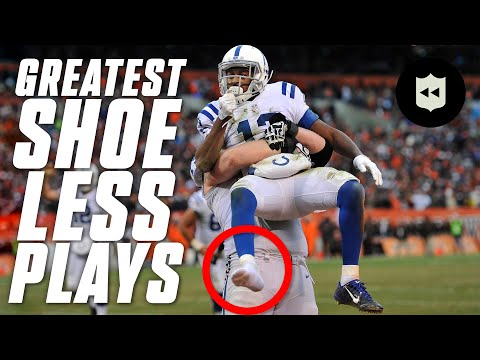 [NFL Throwback] The Greatest Shoe-Less Plays in NFL History!