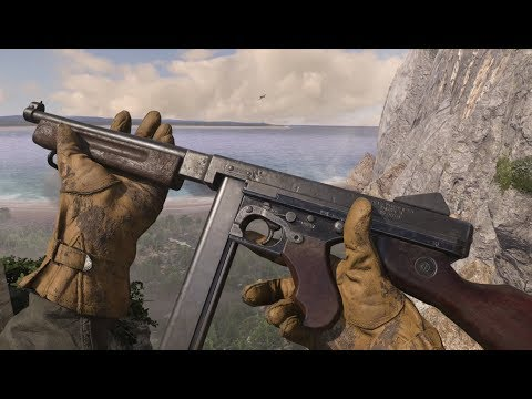 Call of Duty : WWII - All Weapons , Equipment , Reload Animations and Sounds
