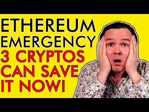ETHEREUM EMERGENCY!!! THESE 3 CRYPTO ALTCOINS CAN SAVE ETH AND ARE SET FOR HUGE GAINS