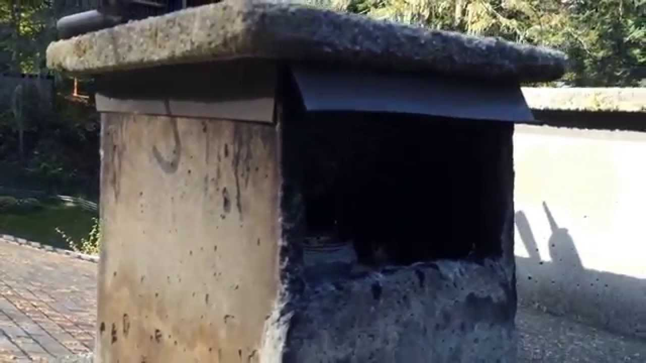 finding the leaks on a stone chimney youtube