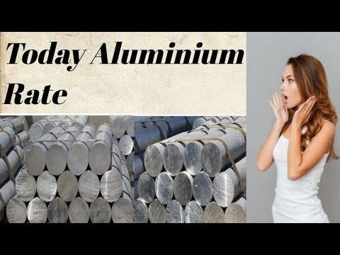 Today aluminium price in india per kg aluminium price ! Aluminium price ! Aluminium rate