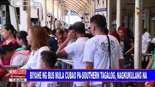 Video NEWSBREAK: Biyahe ng bus mula Cubao pa-Southern Tagalog, nagkukulang na download MP3, 3GP, MP4, WEBM, AVI, FLV Juli 2018