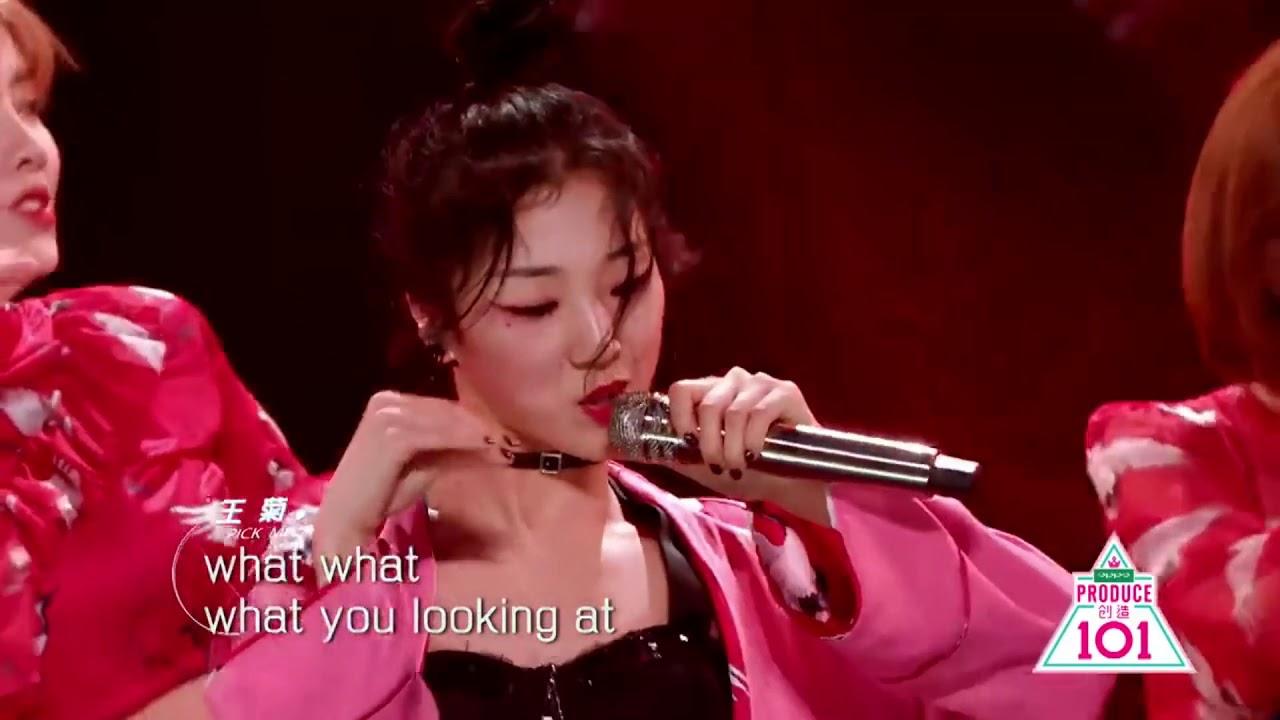 PRODUCE 101 CHINA - 中國話 Chinese rap stage [ENG/PINYIN]
