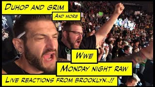duhop WWE Monday Night Raw Live Reactions vlog from Brooklyn NY